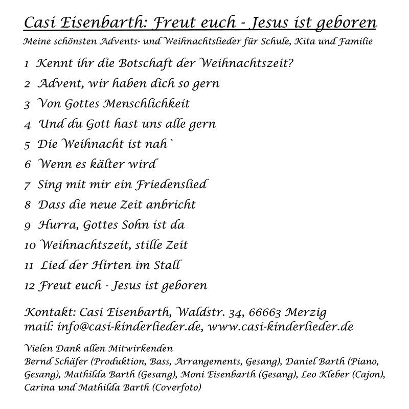 Casi Eisenbarth - Kinderliedermacher | Kinderlieder, Kinderkonzerte ...
